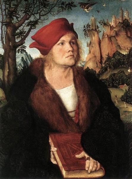 The elder portrait of dr johannes cuspinian